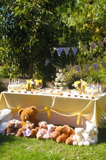 "Photo 33 of 36: Teddy Bear Picnic / Birthday ""Teddy Bear Picnic"" | Catch My Party"