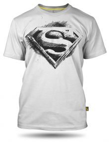 Superman pencil logo