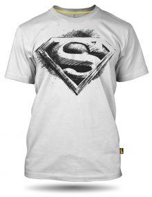 Superman pencil logo