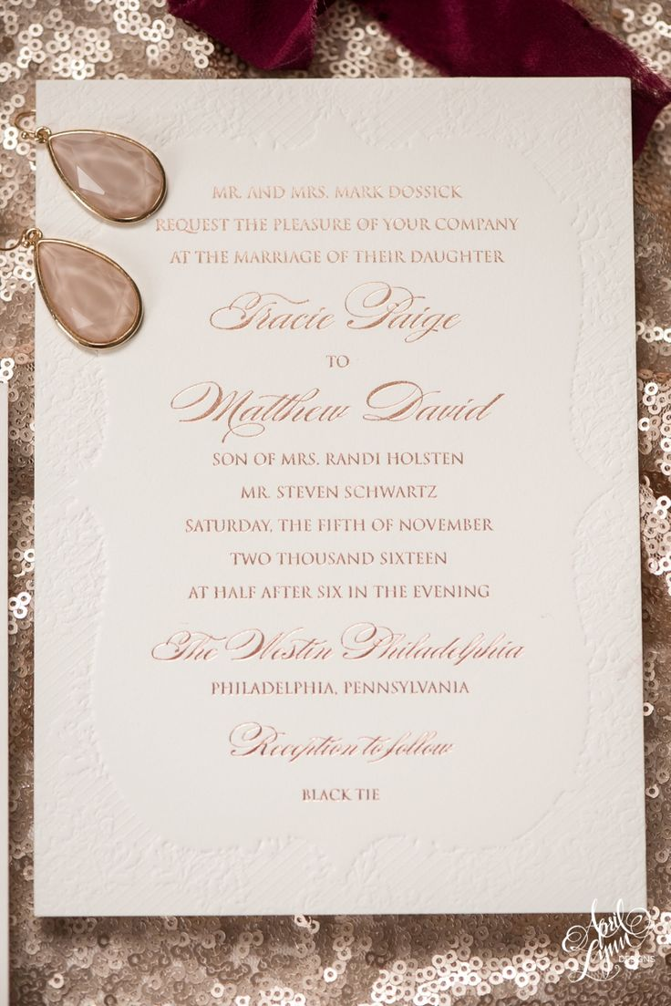 April Lynn Designs classic lace deboss and
