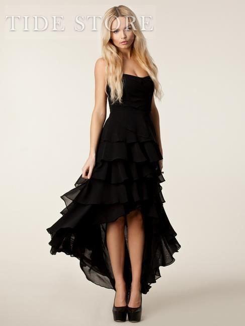 Euramerican Elegant Long Style Strapless Dress: tidestore.com