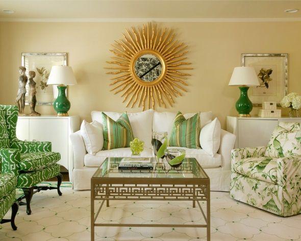 Сбалансированная симметрия в гостиной