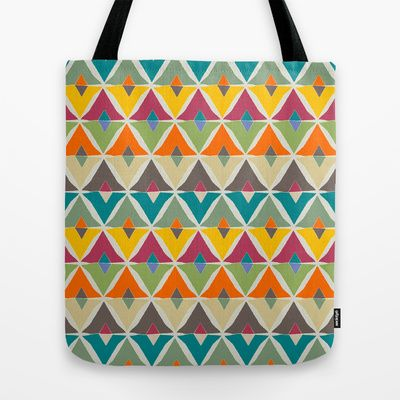 VIDA Tote Bag - Abstract Peace 2 by VIDA 5LXU3MNMF