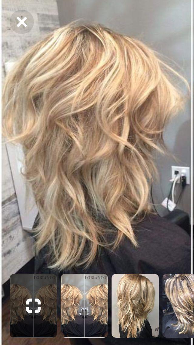 Best 12 Coiffure en couches de longueur moyenne contient une coiffure en couches pour tous …   – Haare