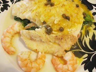 Best fish recipe EVER!!  Triggerfish with Spicy Lemon Caper Butter Sauce