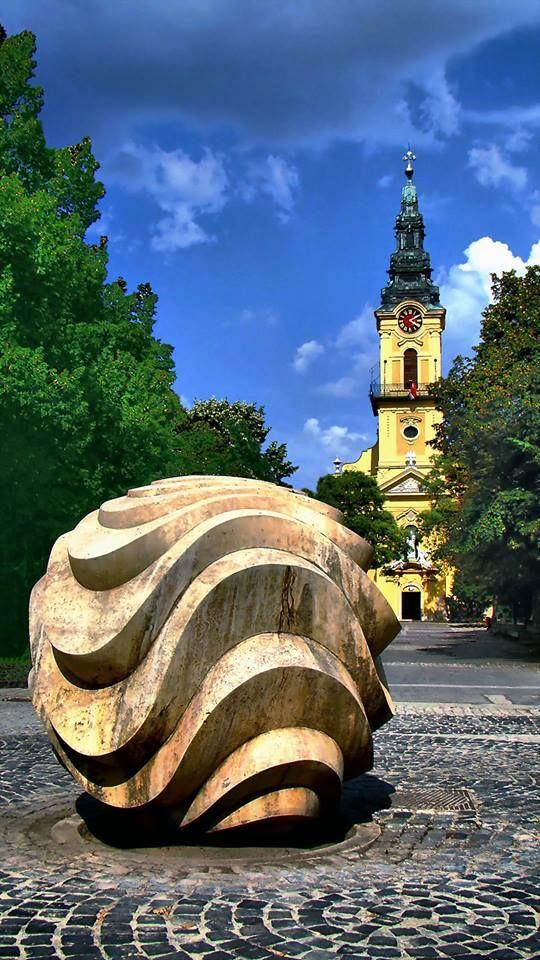 Kiskunfélegyháza, katolikus barokk templom. foto: Farsang Péter