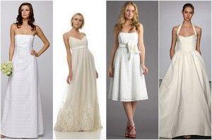 1000 ideas about cotton wedding dresses on pinterest for Organic cotton wedding dress