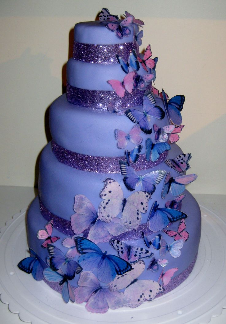 how to make butterflies for cakes