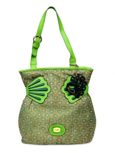 Holii Aquamarine Budding Green Hand Bag