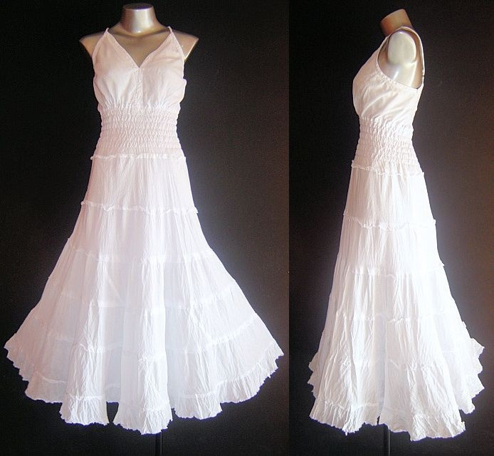 new long white fairy dress plus size 20 22 24 maxi