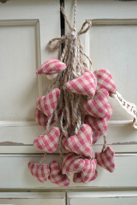 shabby chic decor #hearts Mais