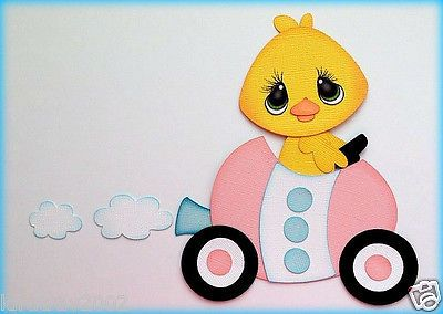 Eater Chick in Easter Egg Car Paper Piecing by My Tear Bears Kira | eBay