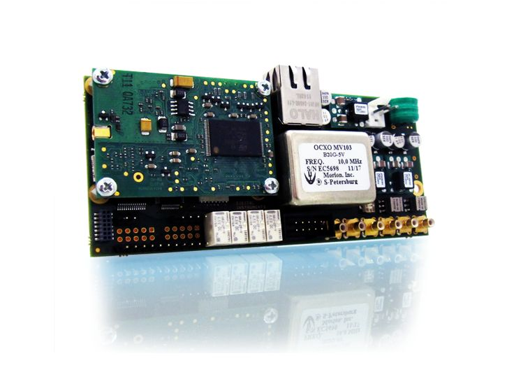 NANOREF Micro Multireference Time-Frequency  NANOREF features:  Internal high stability OCXO aging rate of ± 1*10 -10 /day, 12 channels GPS receiver with automatic tracking and timing error management system, New generation DPLL fast lock, Multi reference inputs, 1x Ethernet interface for NTP and/or PTP synchronization,  Read More: http://www.digital-instruments.com/sheet.php?id=8  Contact Us: http://cccsolutions.eu/contact-us
