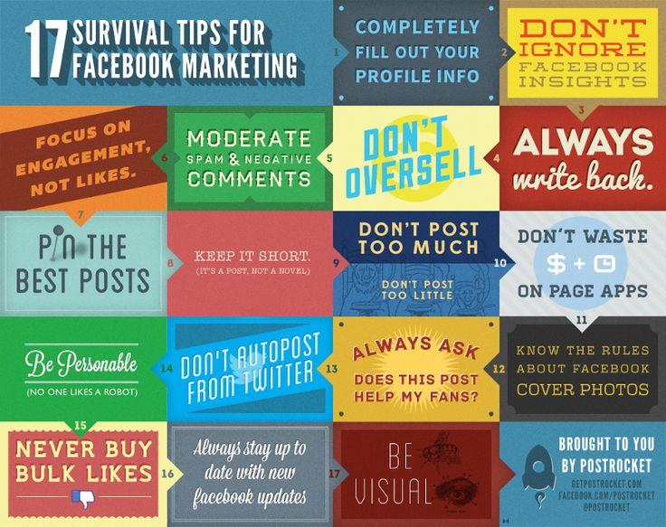 Facebook Marketing Tips1 17 Facebook Business Marketing Tips and Tricks