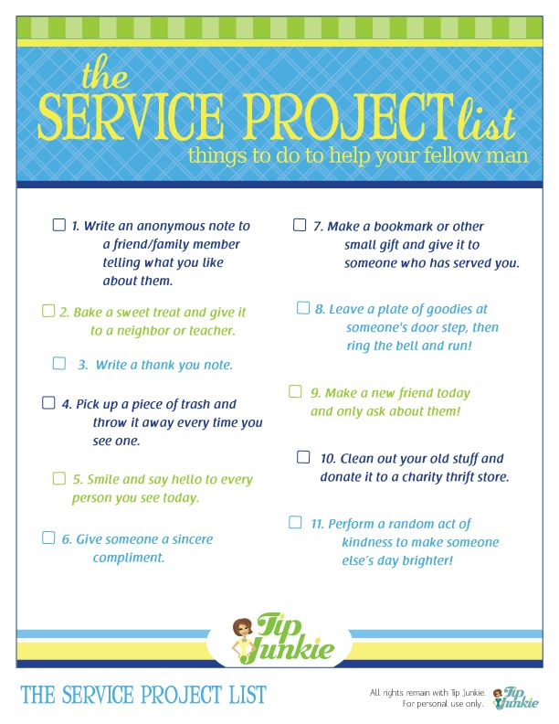 Best Images About Service Projects On   Homeschool