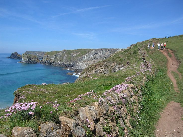 Cornwall, England. I believe this is near the area of Arthur's Castle.