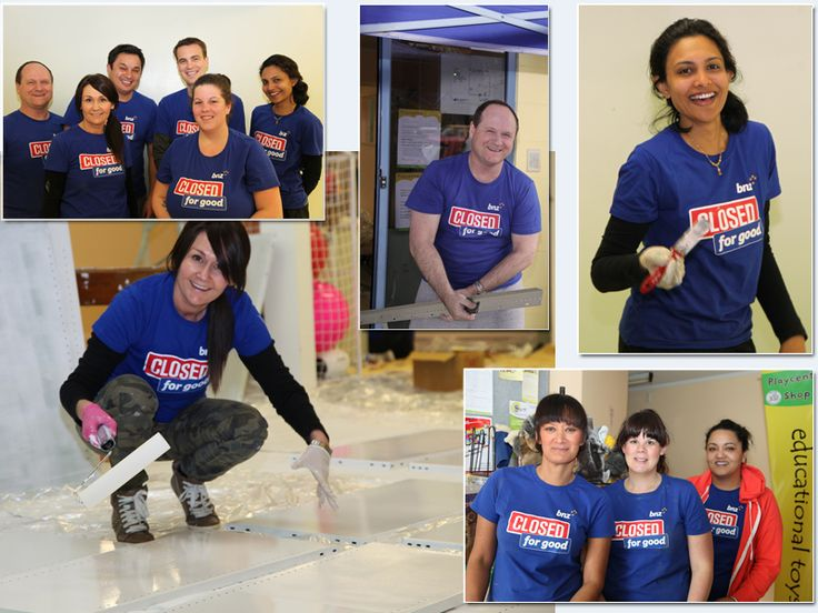 Thanks so much to the wonderful BNZ closed for Good volunteers for 2013.  Wow!  It would not of been possible without you, view all the photos of the wonderful people at BNZ that helped us on Facebook. (Click the photo to view the album).