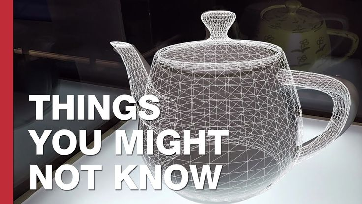 Cool ! ;-) The World's Most Famous Teapot: The Utah Teapot