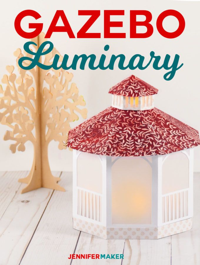 Make A Pretty Paper Gazebo Luminary For Mother S Day Wedding