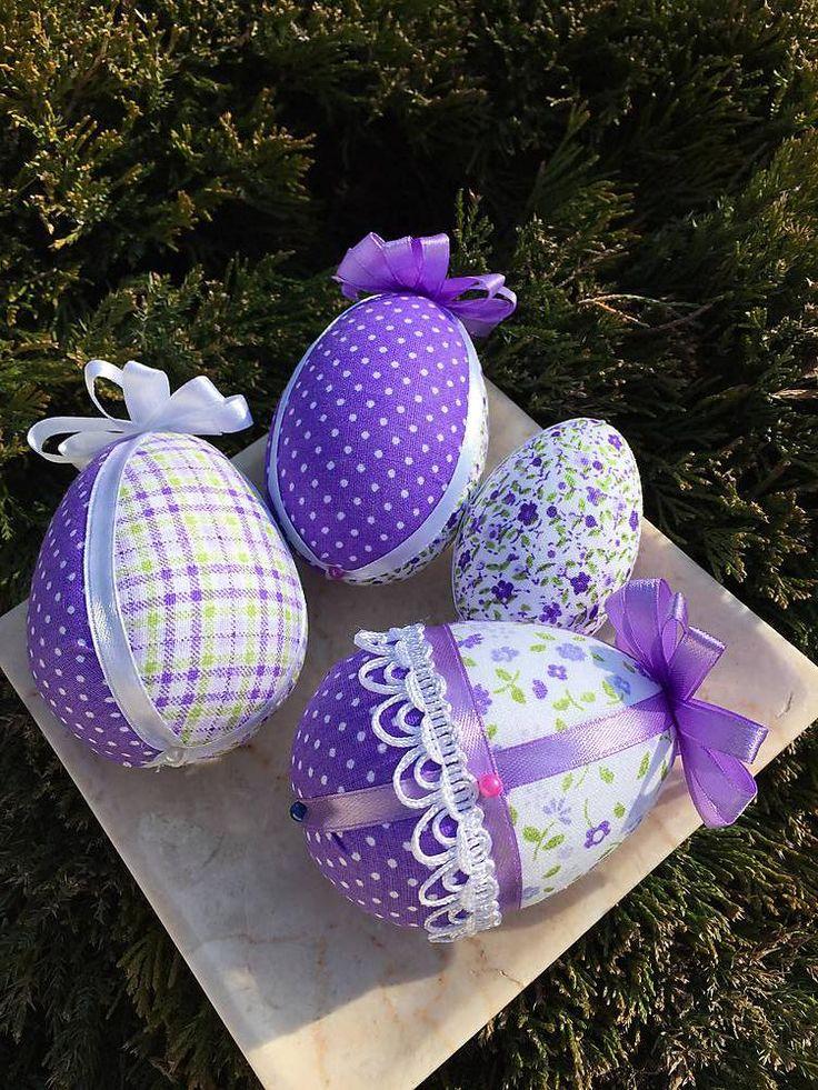 Veľká Noc - Sada veľkonočných vajíčok - patchwork - 5170707_