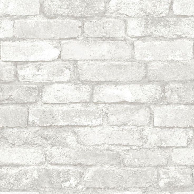 25 best ideas about white brick wallpaper on pinterest Brick wallpaper home depot