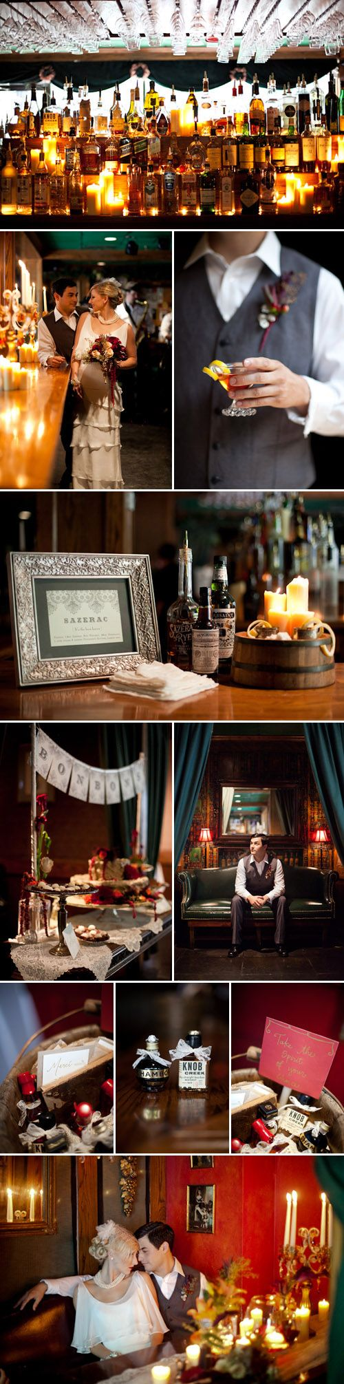 1920s Paris and New Orleans Wedding Inspiration and Ideas - Junebug's Wedding Blog - Celebrating the Best in Wedding Style, Fashion, Photography and Decor