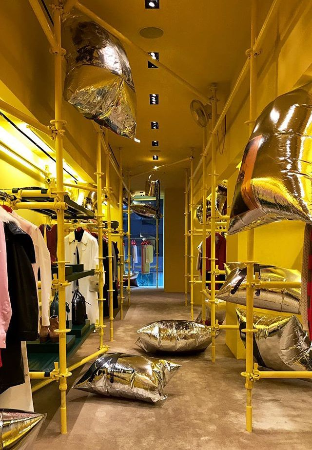 Calvin Klein Store New York by Raf Simons and Sterling Ruby  7b2a11767e0