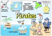 A collection of pirate lesson ideas and printables
