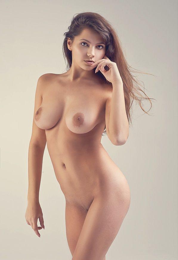 standing Beautiful nude ladies