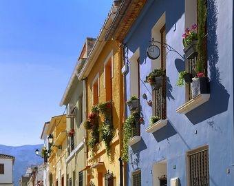 """Puerto y barrio """"Baix La Mar"""" - Dénia"""