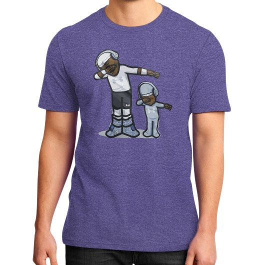 Cam Newton DAB Son - Dap On EM District T-Shirt (on man)