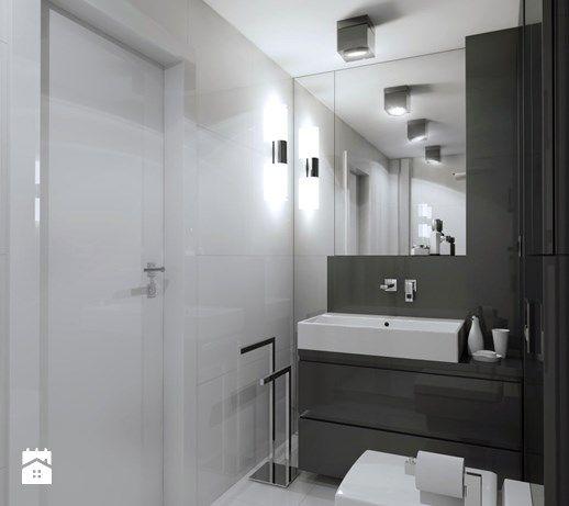 Aranżacje wnętrz - Łazienka: Mały Apartament - Mała łazienka, styl nowoczesny - Manufaktura Projektów. Przeglądaj, dodawaj i zapisuj najlepsze zdjęcia, pomysły i inspiracje designerskie. W bazie mamy już prawie milion fotografii!