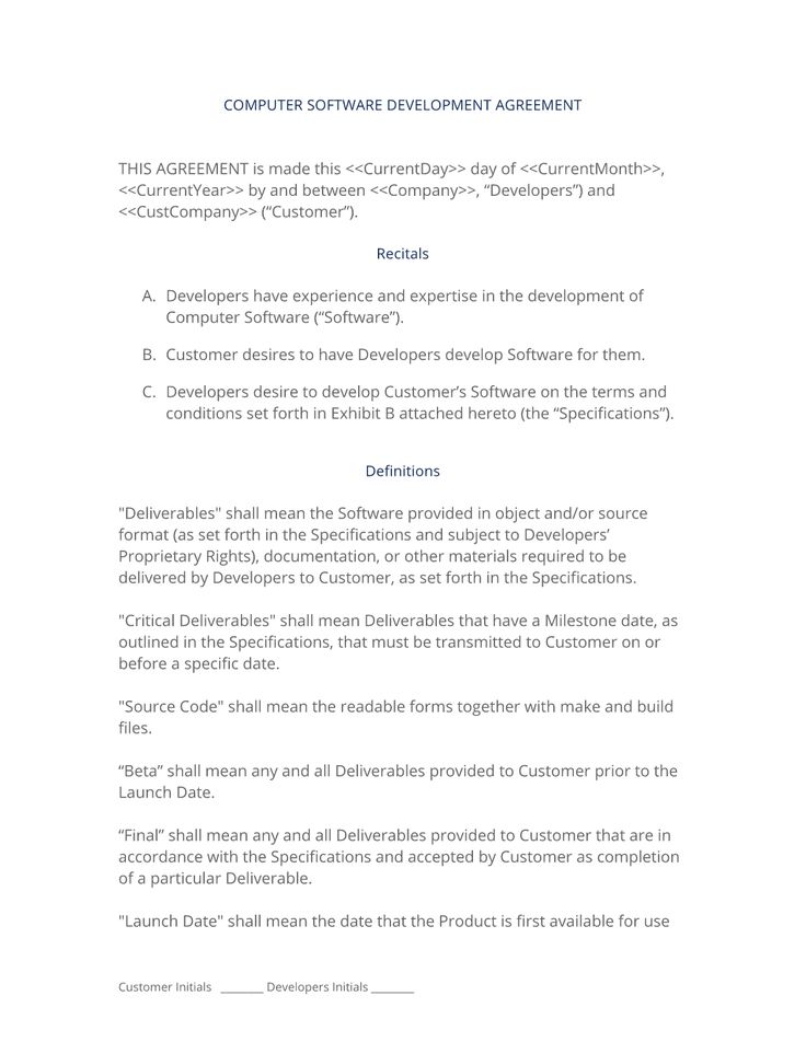 CdRom Development Agreement Uk  The Original Us CdRom