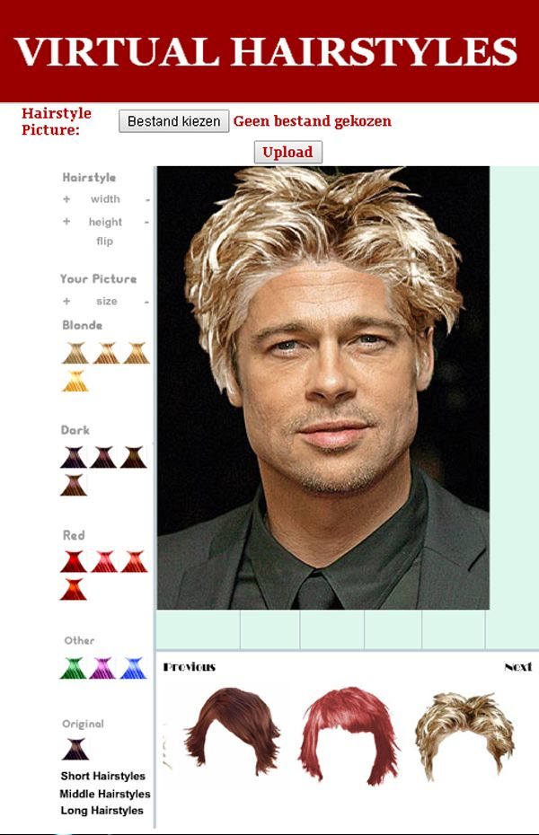 Upload your photo, and choose a new haircut : >>>>See blog<<<<<<