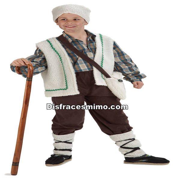 Tu mejor disfraz de pastorcillo para niños 5 a 6 años.A Belén pastores!Este disfraz de Pastor Pirenaico para niño es ideal para que los más pequeños puedan encarnar a estos típicos personajes en Nacimientos Vivientes.Este disfraz es ideal para tus fiestas temáticas de disfraces de navidad para infantiles.-