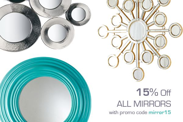 All Mirrors on Sale Now!   www.SelectHomeAccents.com