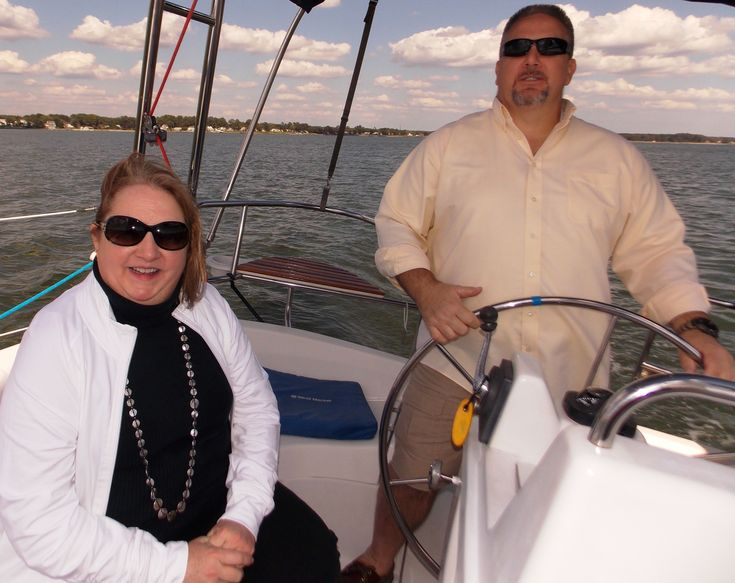 "SAILING TO SECURITY – Credit card fraud is a $1 billion enterprise, and 80% of it is said to be through ""card skimming."" Michelle Topping of Towne Bank warned us while sailing on the York to run a fingertip over the slot of the credit card device to feel for hidden paper or plastic strips that can pick up a pin number for a debit card. Unlike credit cards, fraud on the debit card directly affects your bank balance."