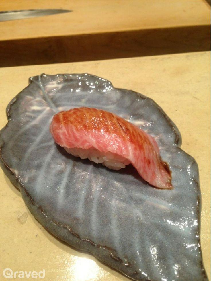 Salmon Sushi at Honzen