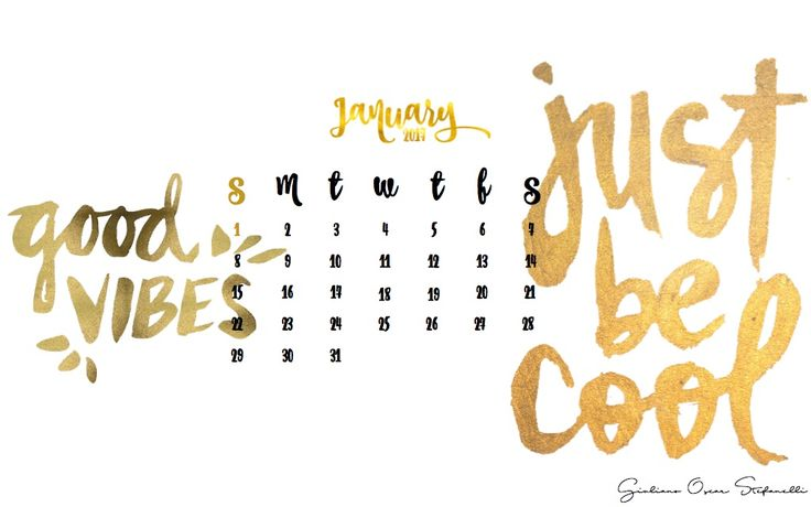 January 2017 send me a direct message on Instagram if you want this calendar wallpaper without my sign------> giulianostefanelli ! Tell me if you like it and if you want a theme for the next months,too! #calendar #wallpaper #january2017 #newyear #desktop #macbook #apple #goodvibes #justbecool #gold #wallpapercalendar #calendarwallpaper #january2017calendar