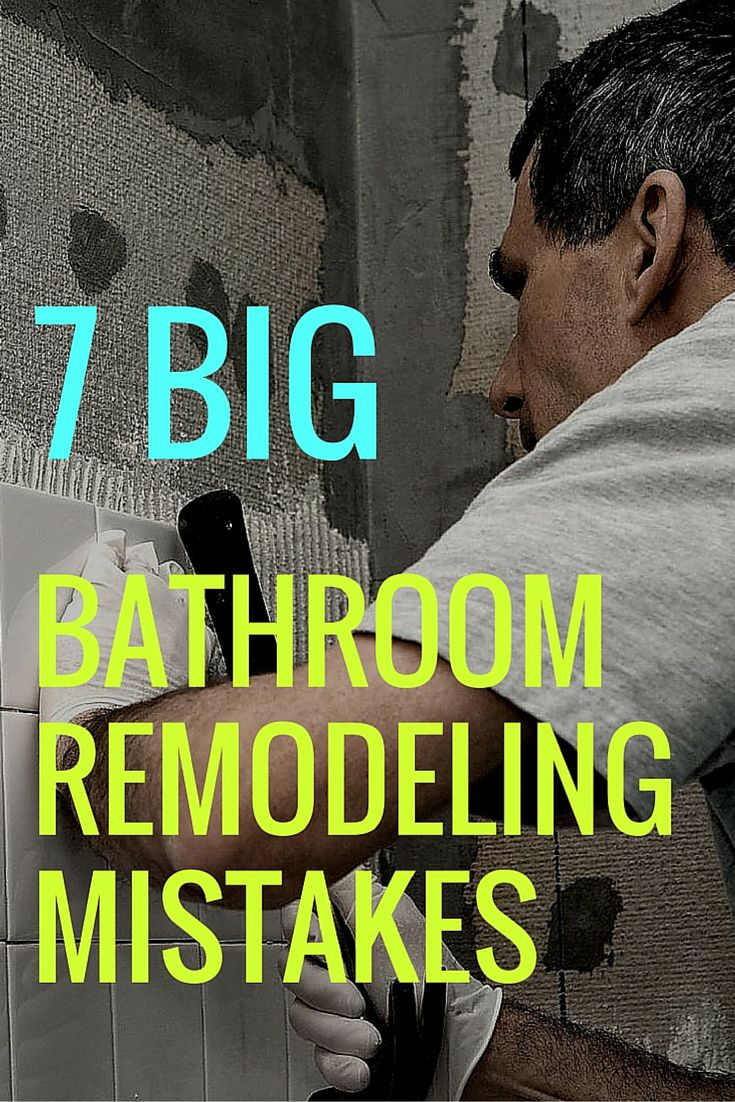 A bathroom remodeling project is expensive! Don't make one of these common mistakes while renovating.