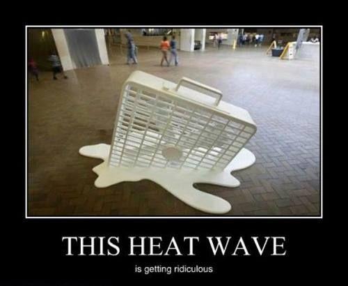 This heatwave... .Wow!!!