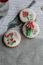Resultado de imagen para como decorar galletas para el dia de la madre