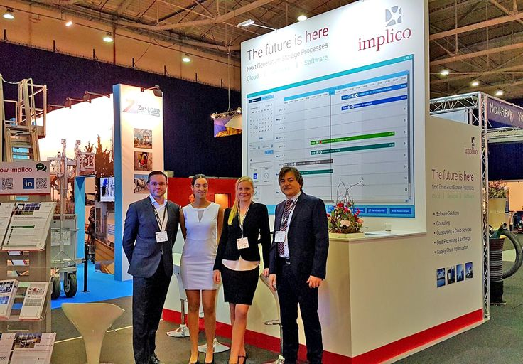 Our Implico Team at StocExpo 2017