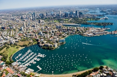 Rushcutters Bay, Sydney. I lived here for 17 years.