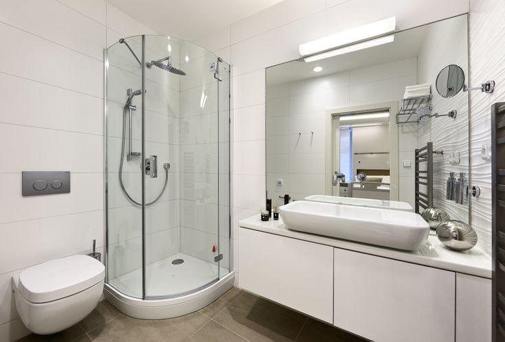 Koupelna a toaleta dospávacího pokoje.