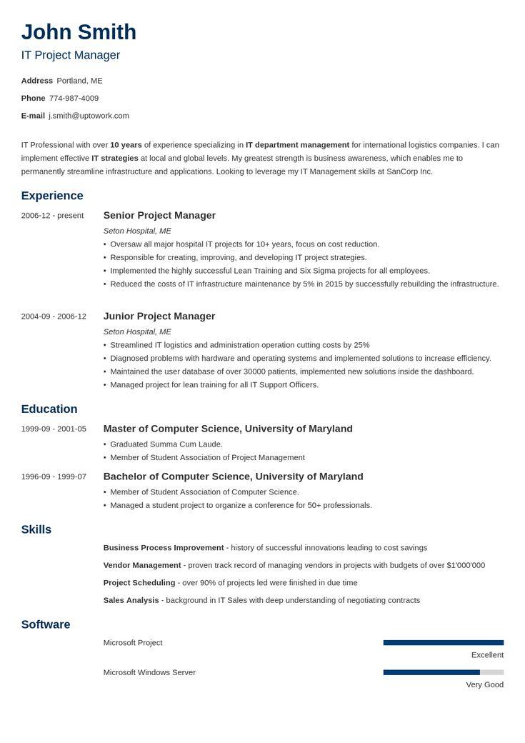 zety resume builder for students
