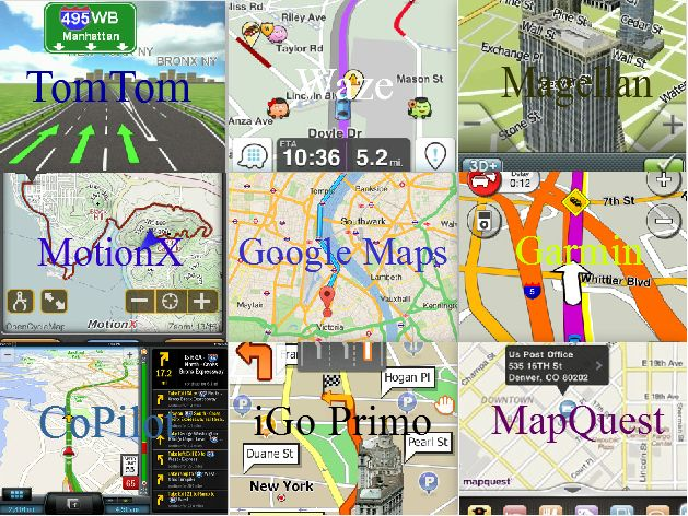 iPhone GPS Apps: GPS Applications For iPhone & iPad (iOS)