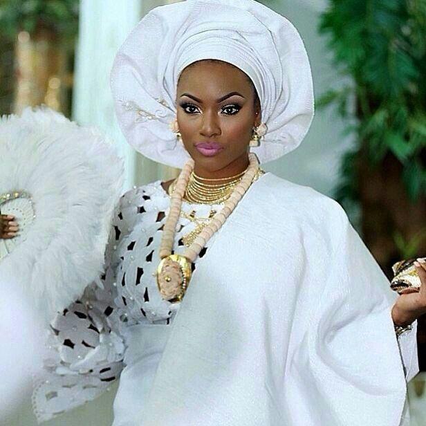 Nigeria  wjite bride