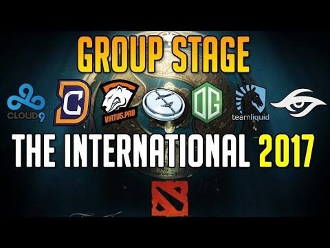 Dota 2 TI7 | Group Stage | Day 1