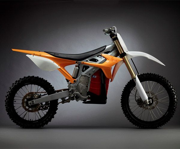 The BRD RedShift motocross bikes is electric!